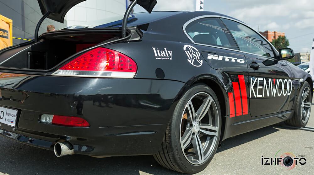 Установка звука на авто BMW