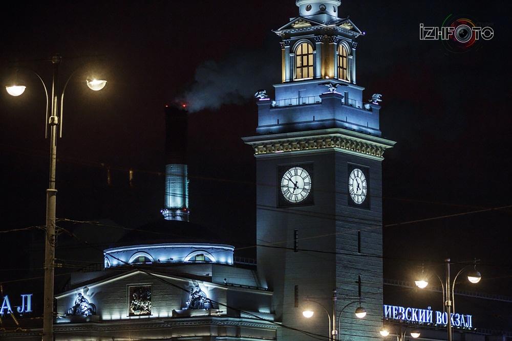 Фото Киевского вокзала в Москве