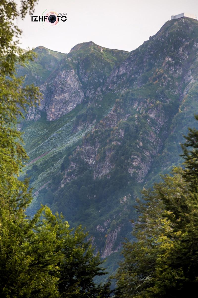 Горы Красная поляна Фото