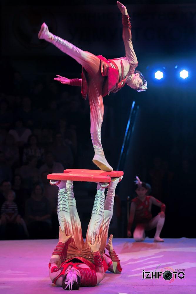 Фестиваль циркового искусства 2018 Ижевск