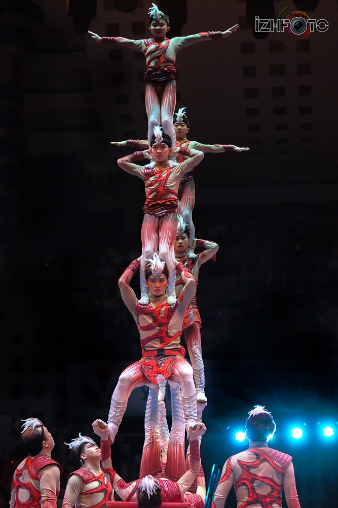 Фестиваль циркового искусства 2018 Фото
