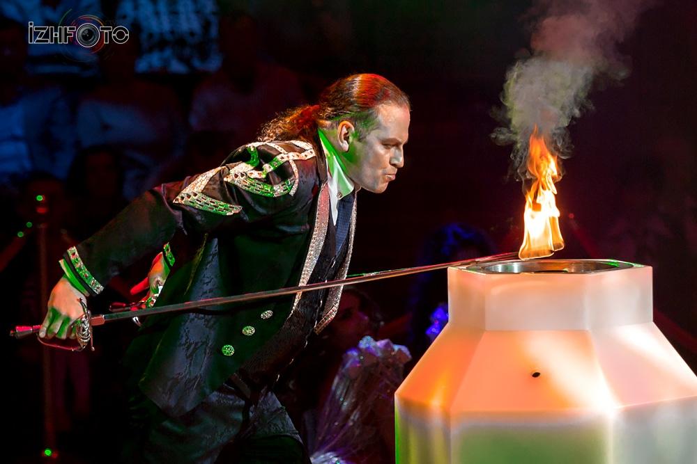 Фото с фестиваля циркового искусства Ижевск 2018
