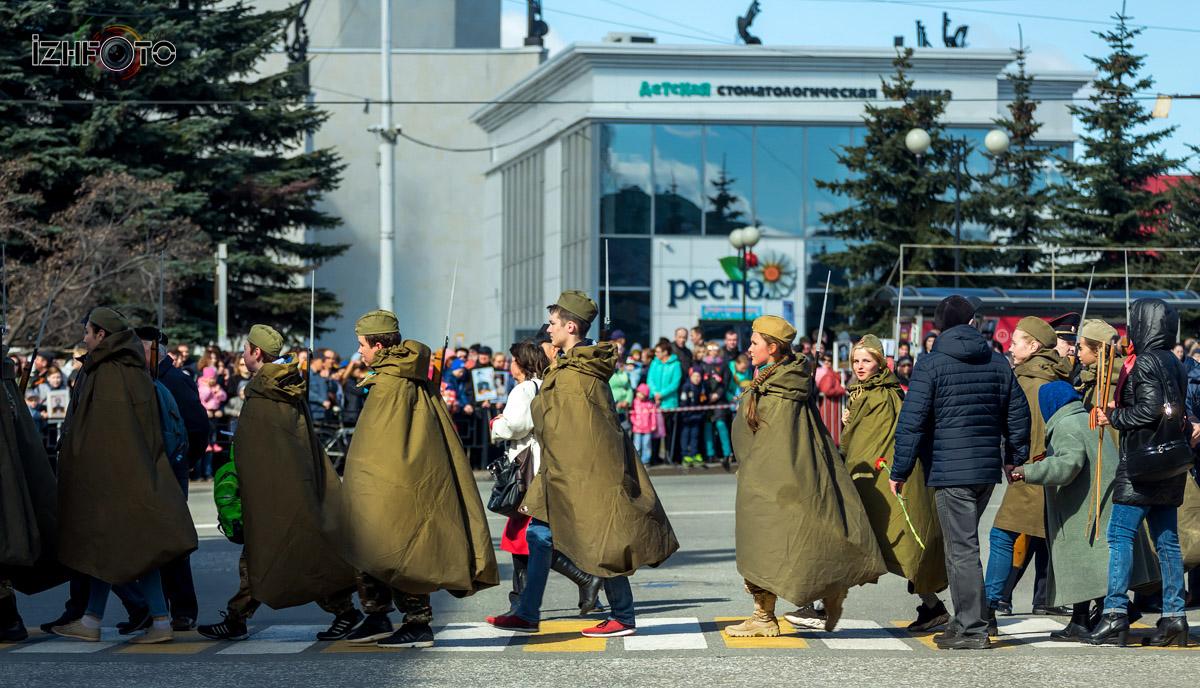 Парад Девятого мая Фото