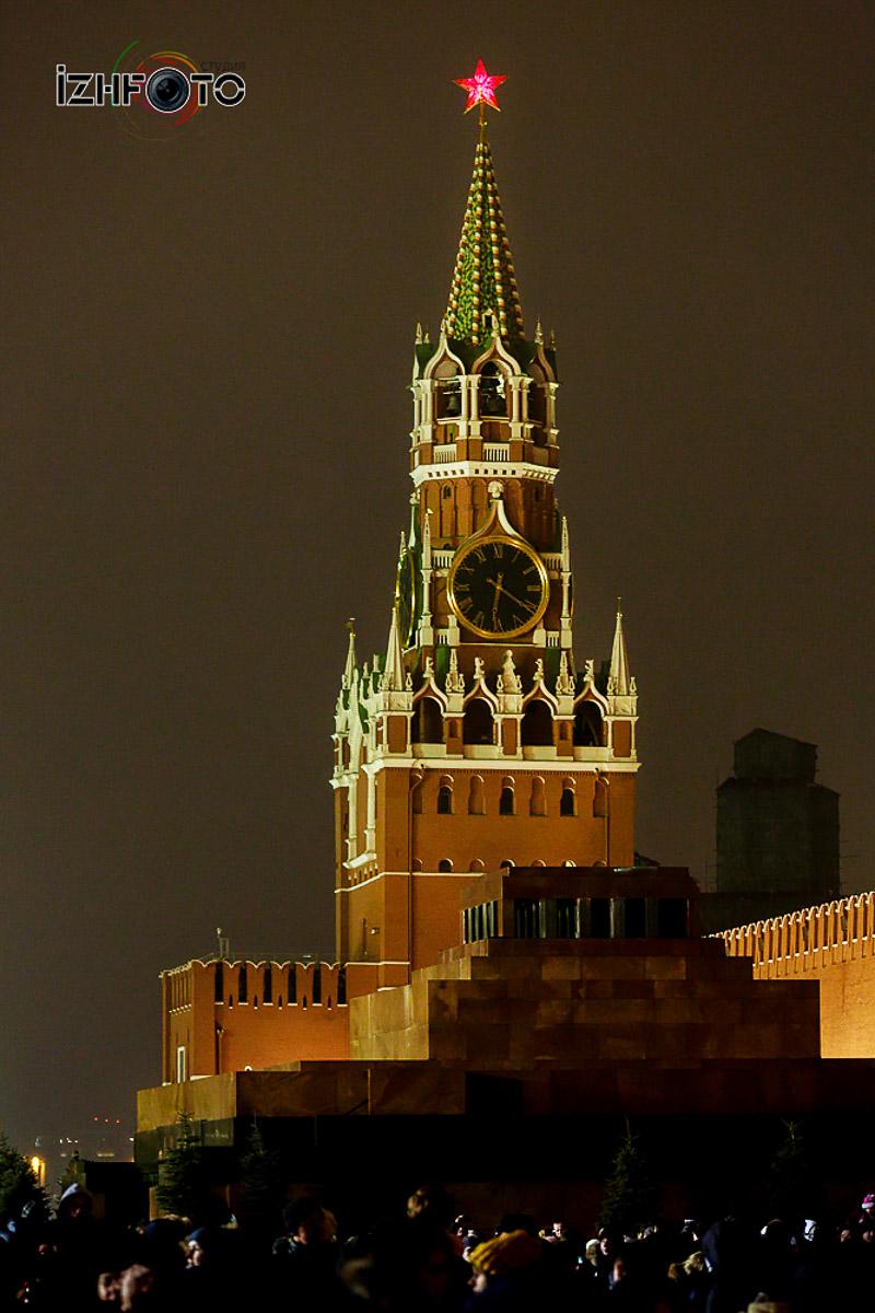Красная площадь Новый год фото