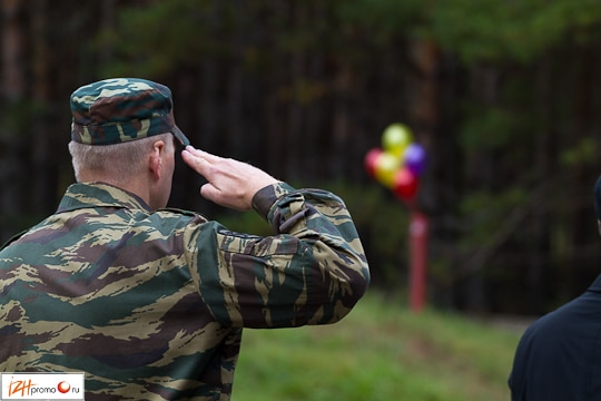Выезд на стрельбы Фото