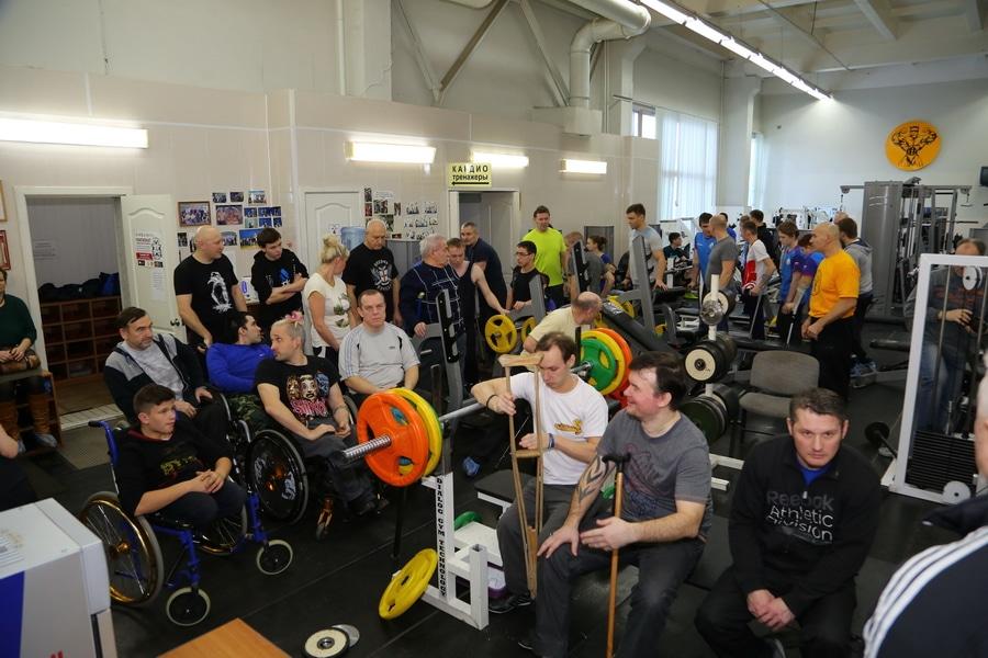 Чемпионат УР спортсменов с ограниченными возможностями