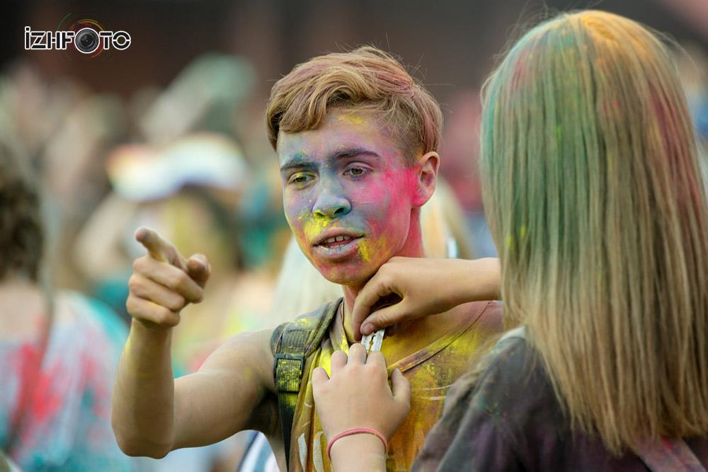 Праздник красок Холи в Ижевске