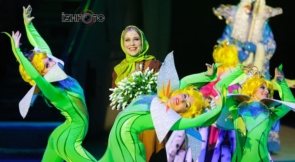 Новогоднее представление Цирк Ижевск