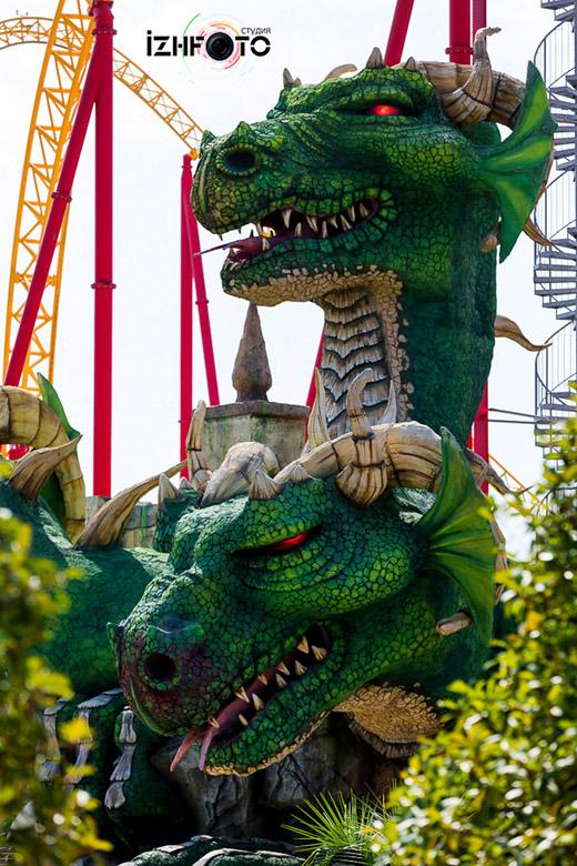 Змей Горыныч в Сочи парк Фото