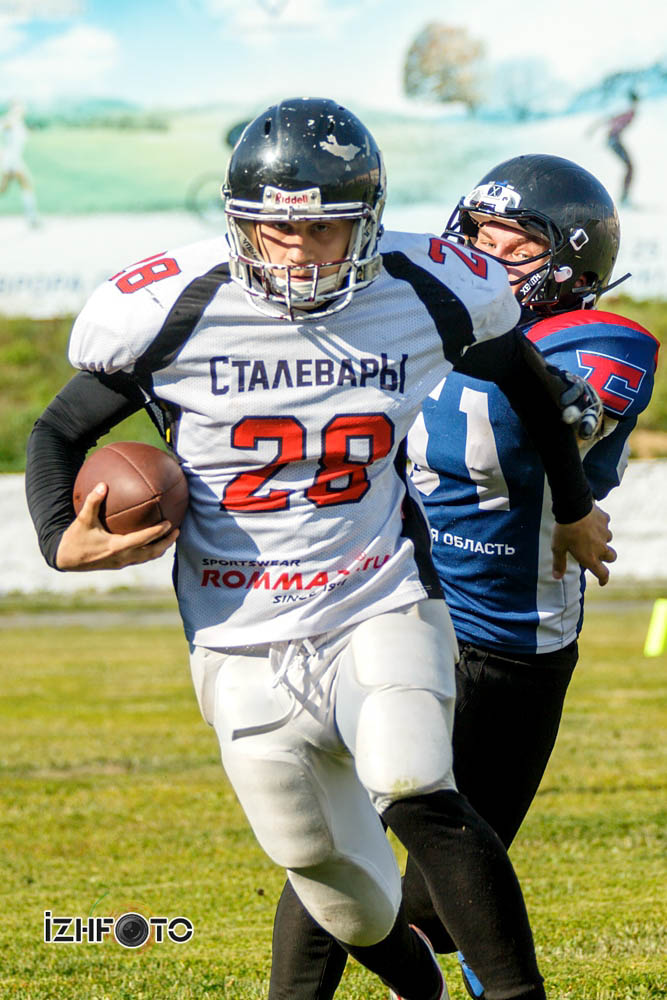 Ижевские сталевары - Сборной Самарской области