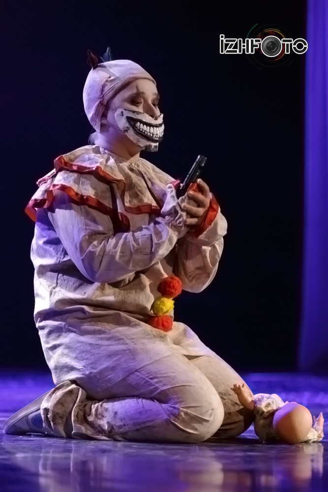 Клоун Твисти American Horror Story Перескокова Елизавета