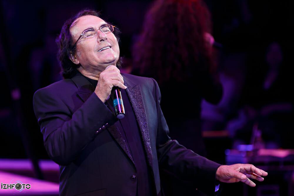Альбано Карризи – знаменитый итальянский эстрадный певец с концертом в Ижевске