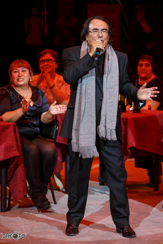Концерт неподражаемого Альбано Карризи в Государственном Цирке Удмуртии