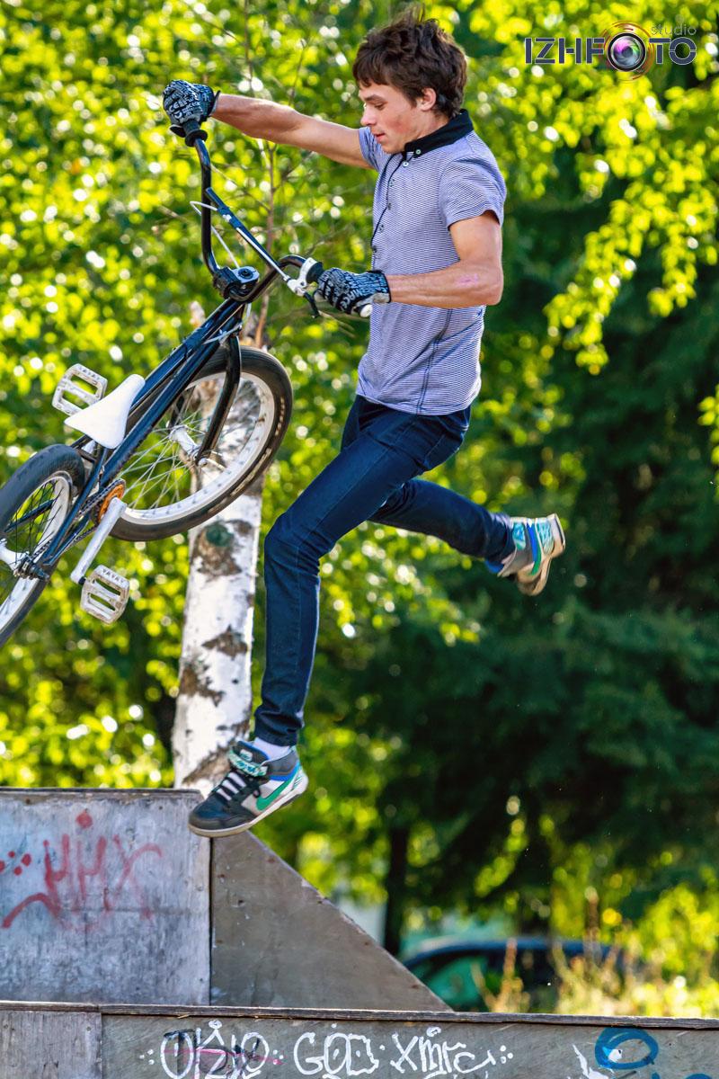 BMX фристайл Фото