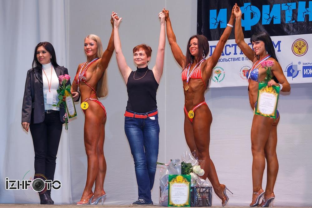 Чемпионат  Ижевска по фитнес бикини