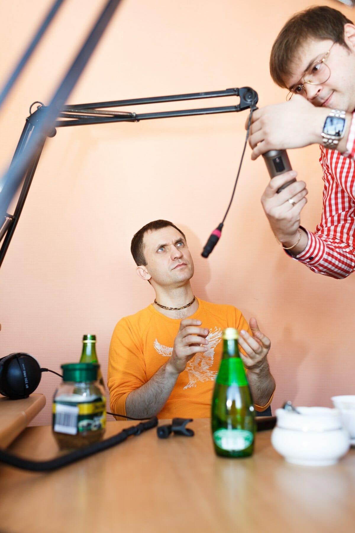 Радиоэфир с Бригадой У, Ижевск, 23 ноября 2013 г.