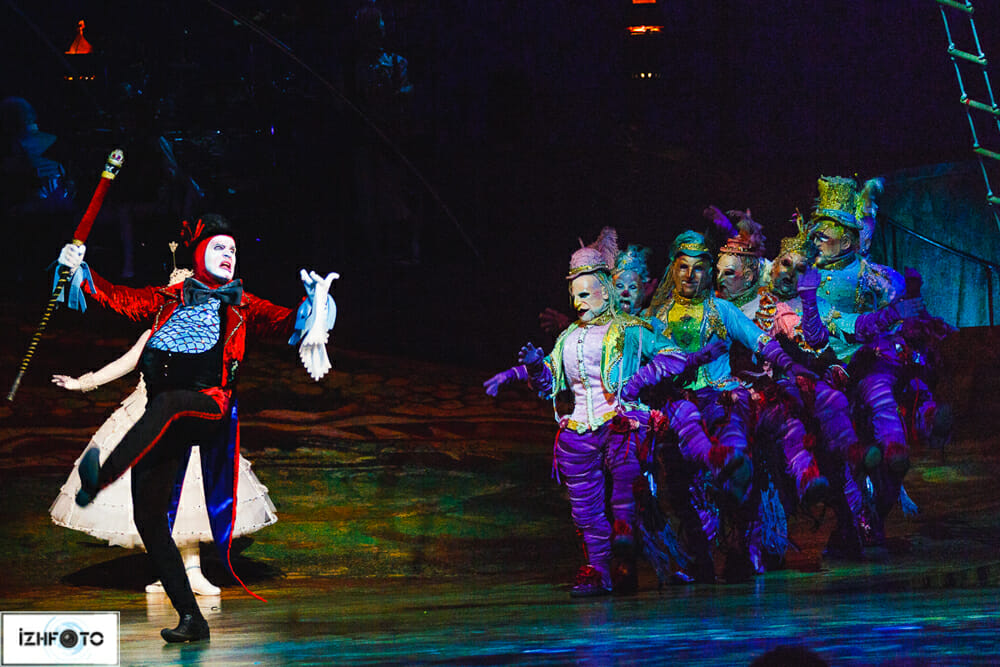 концерт Cirque de Soleil