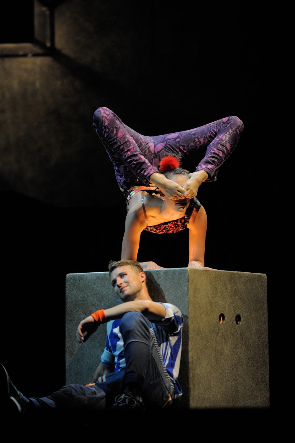 Cirque Eloize в Казани 2014