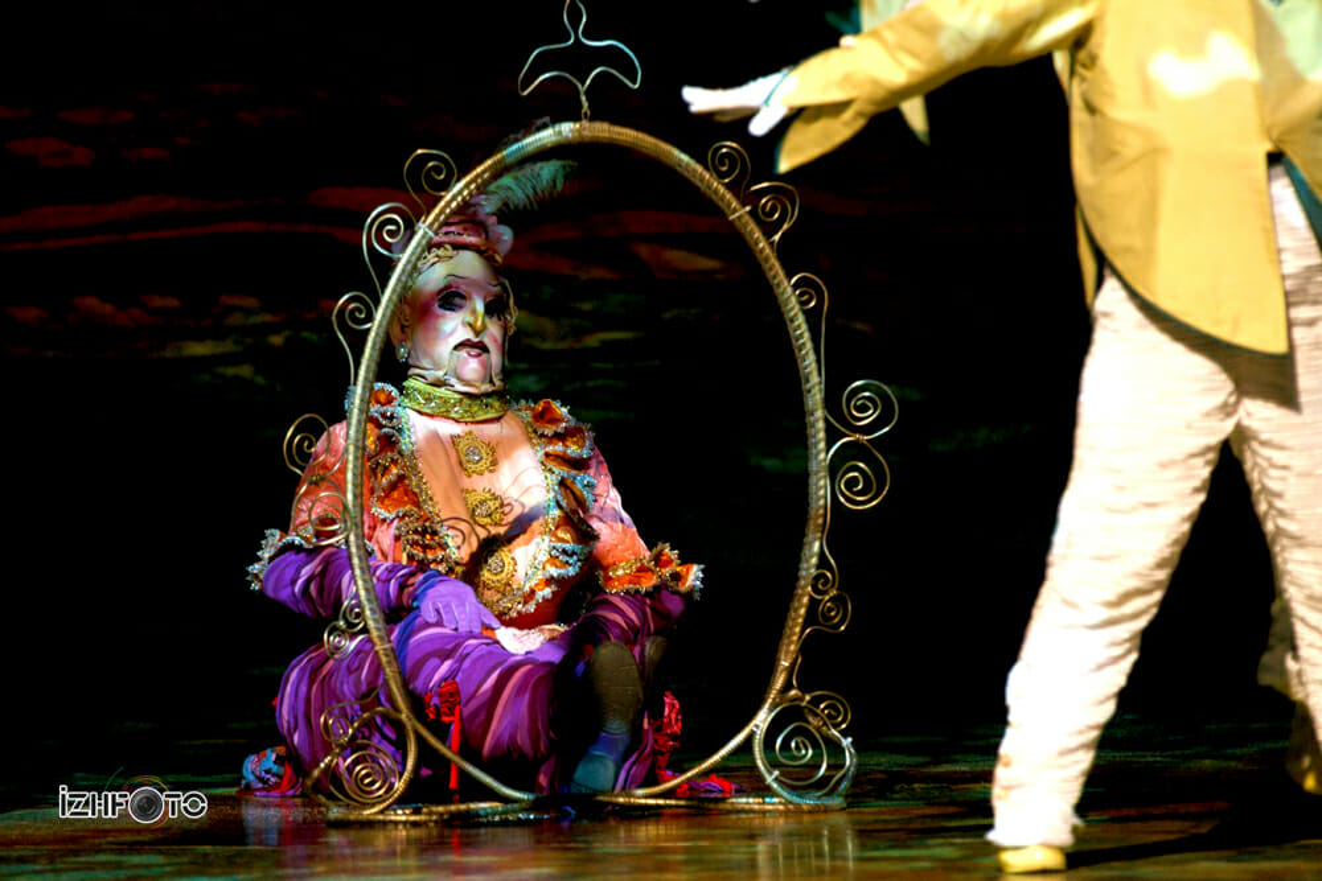 В этом году «Cirque du Soleil» презентует нам шоу под названием «Dralion»