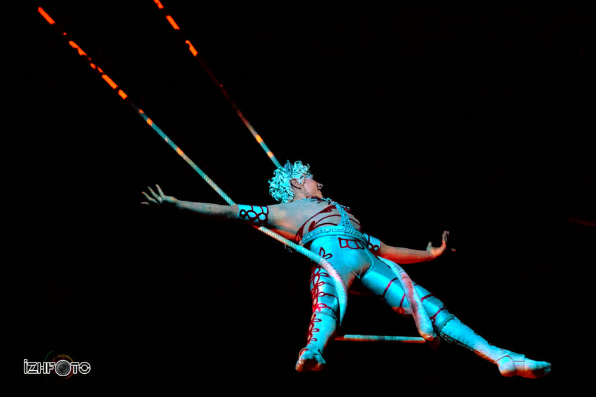 Cirque Du Soleil в Казани 2014
