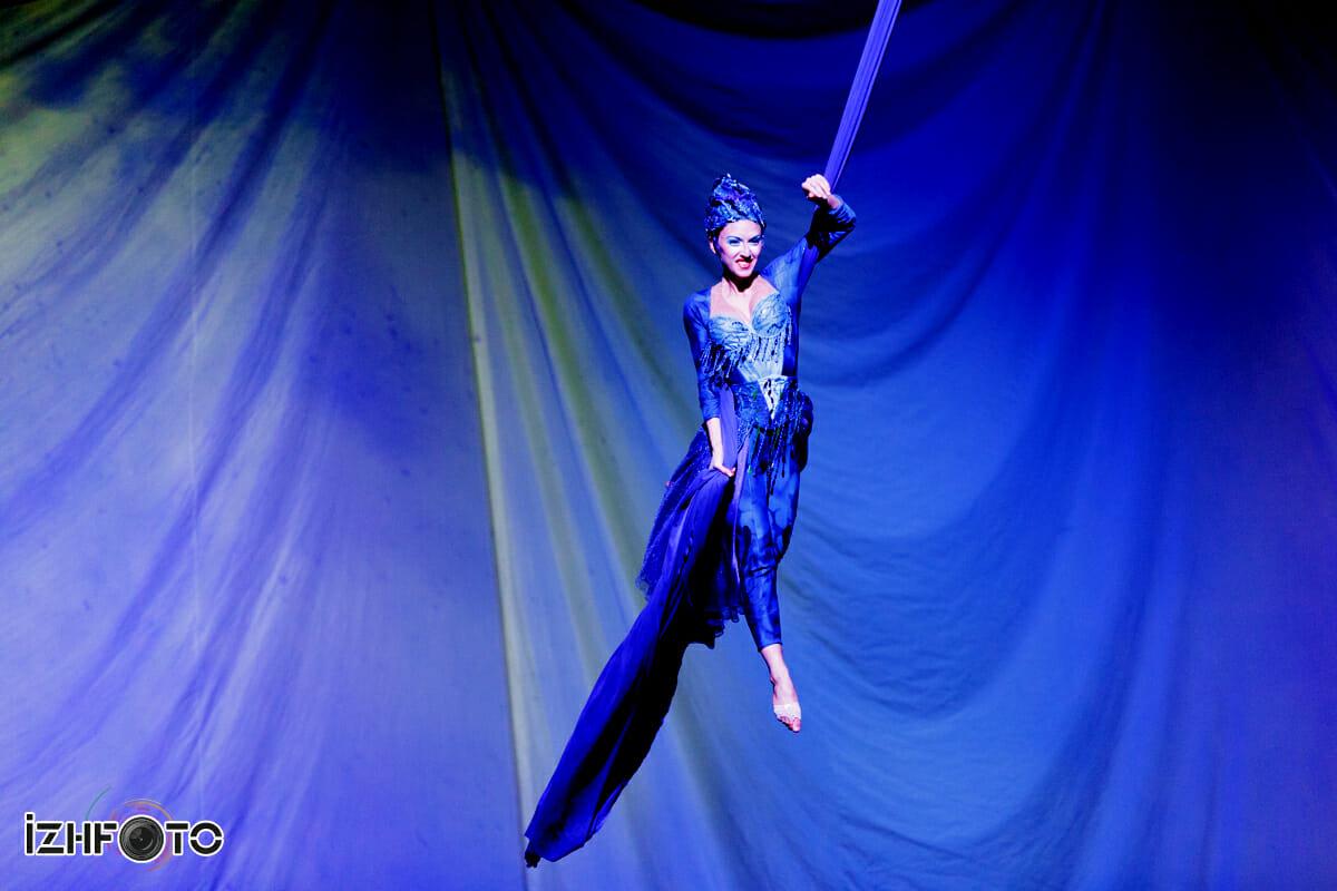 Цирк Дю Солей в Казани 2014