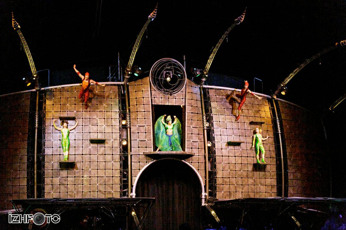 Выступления цирка Дю Солей в России