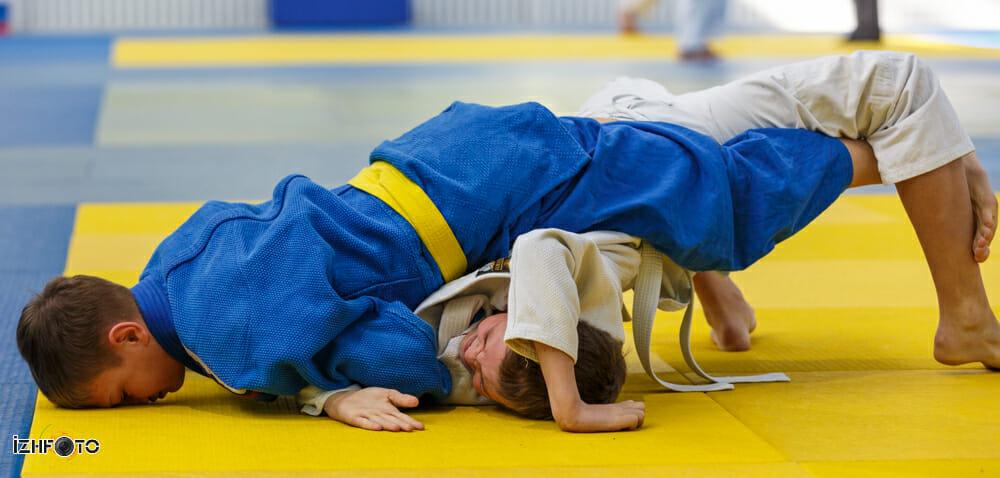 Соревнования по дзюдо в Ижевске