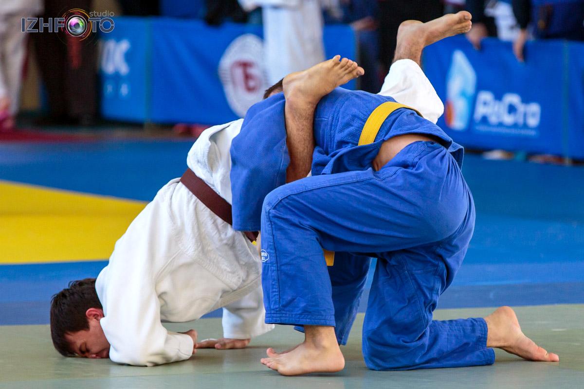 Всероссийские соревнования по дзюдо в Ижевске