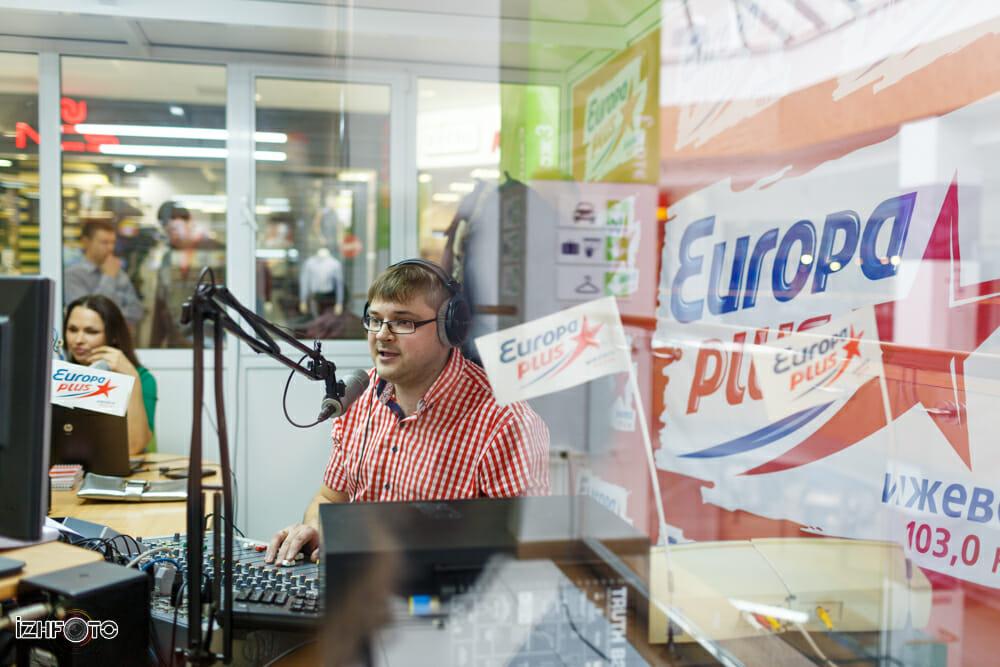 Радиостанция Европа Плюс Ижевск