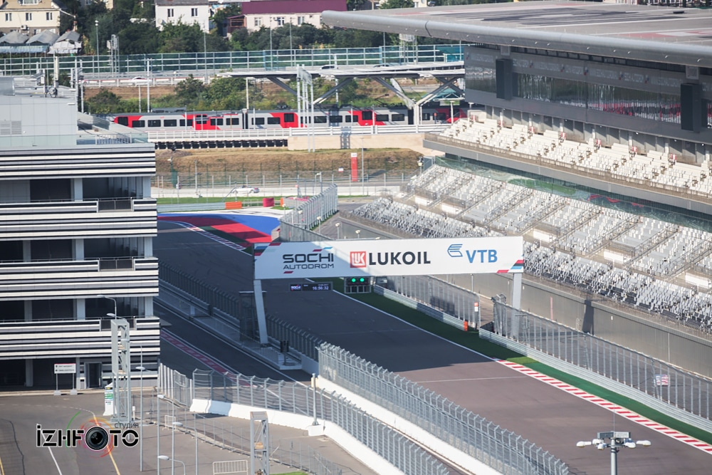 Трасса Формулы 1 Сочи