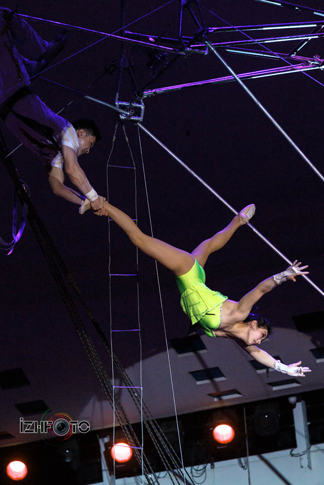 Flying Trapeze DPRKorea