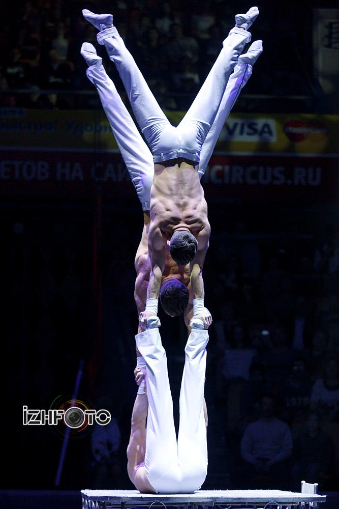 «Экс-трим бразерз», акробатическое трио, Румыния