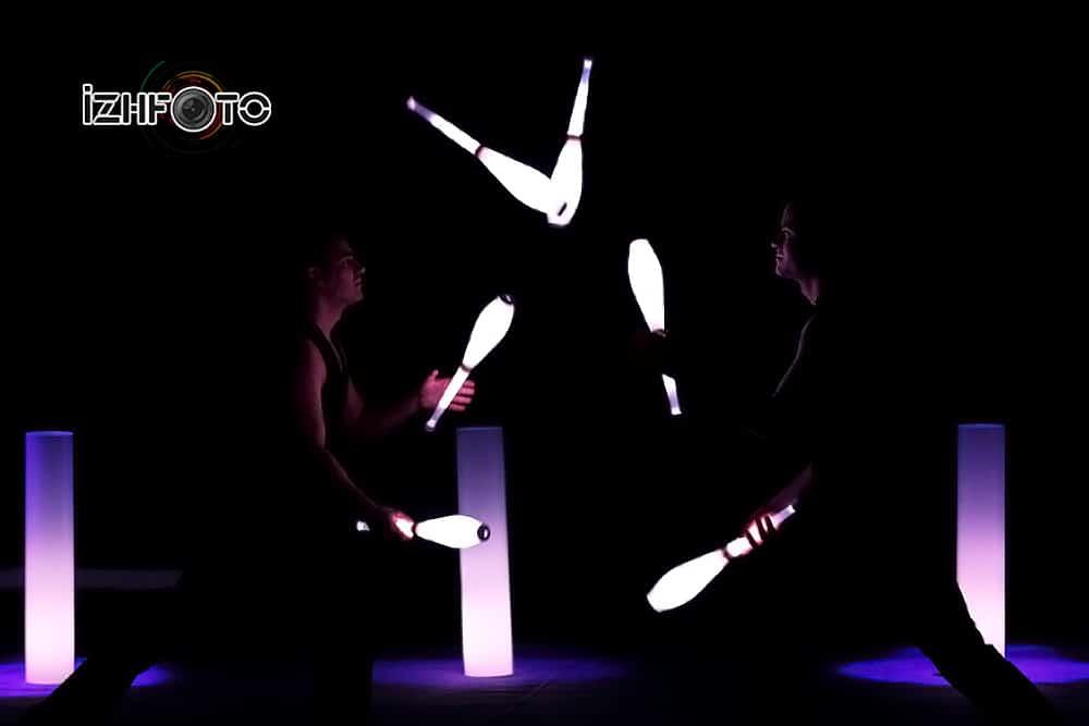 «Найтлайт», групповые жонглеры «Жонглиссимо», Австрия