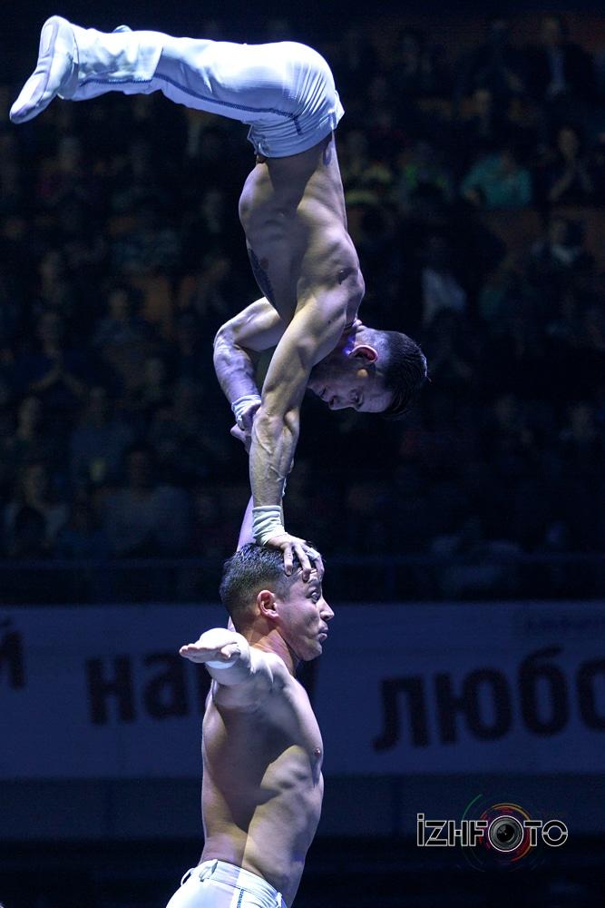 Фестиваль циркового искусства 2016 Ижевск