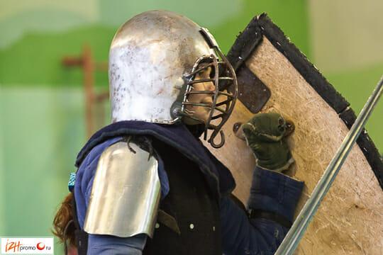 Историческое фехтование в Ижевске, 3 февраля 2013