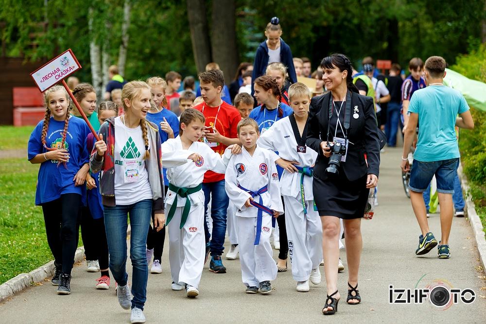 Детские лагеря в Ижевске 2014