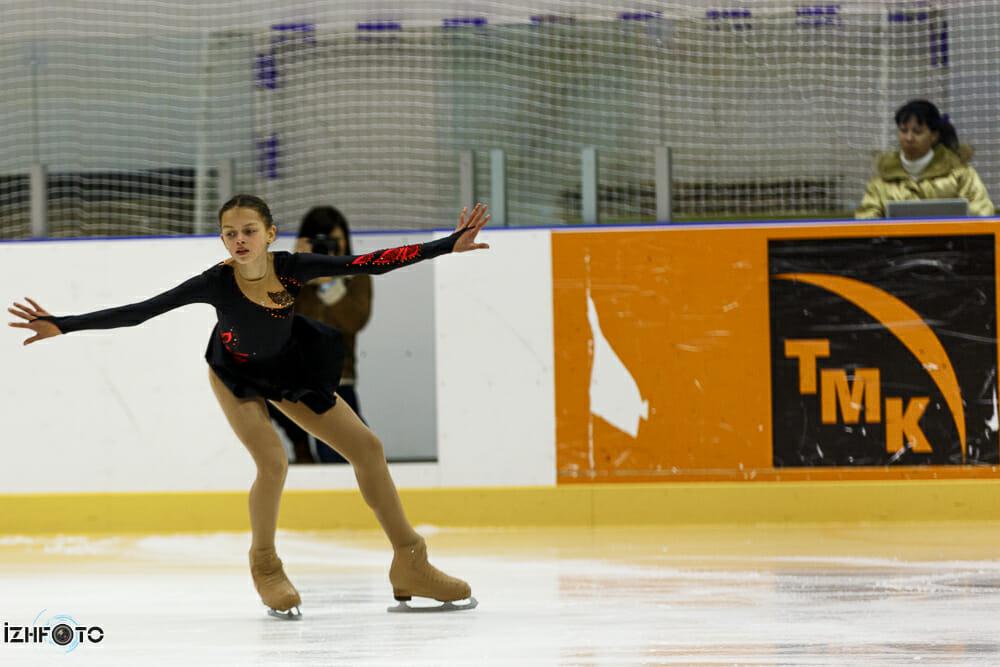 Всероссийский открытый детский турнир по фигурному катанию Ижевская снежинка - 2013