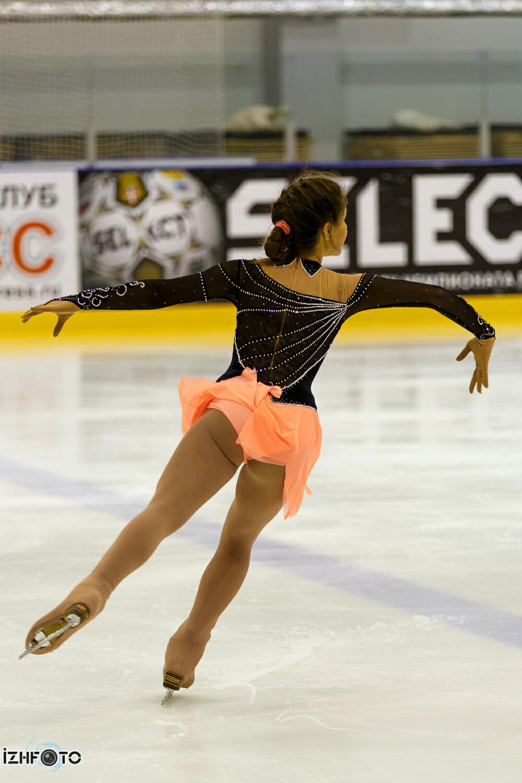Соревнования по фигурному катанию Ижевская снежинка 2013
