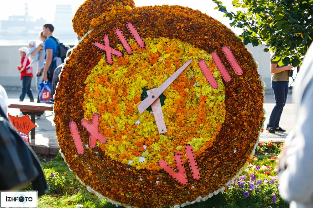 Праздник цветов, набережная Ижевска