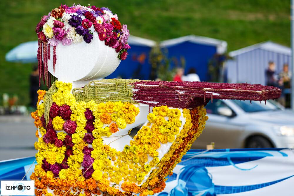Тематика Праздника цветов в 2013 году – спорт