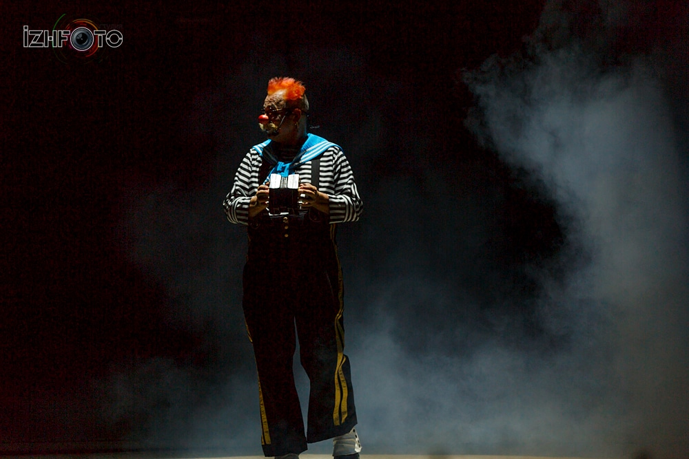 Цирк Шоу Гигантских фонтанов
