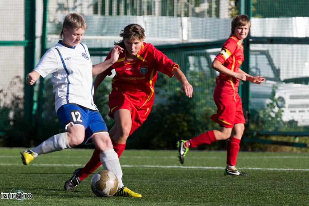 Женский футбол в Ижевске