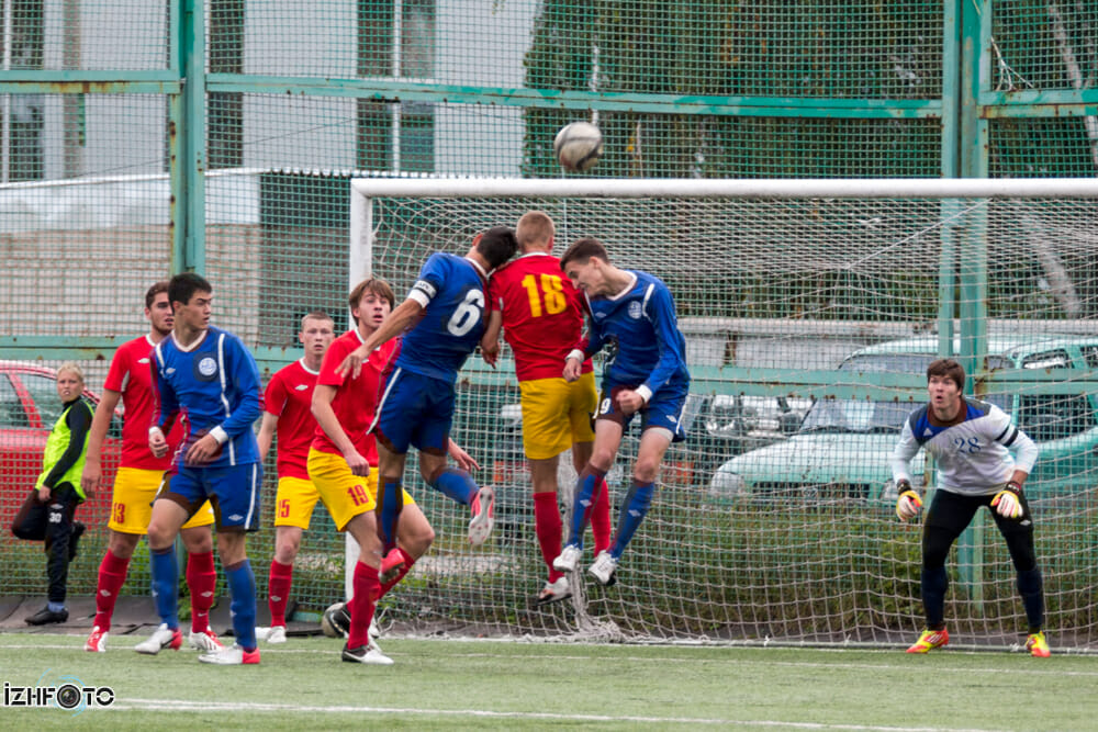 Футбол в Ижевске