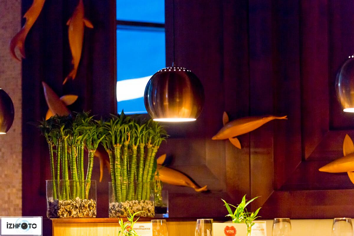 Кафе Wong Ижевск, фото интерьеров