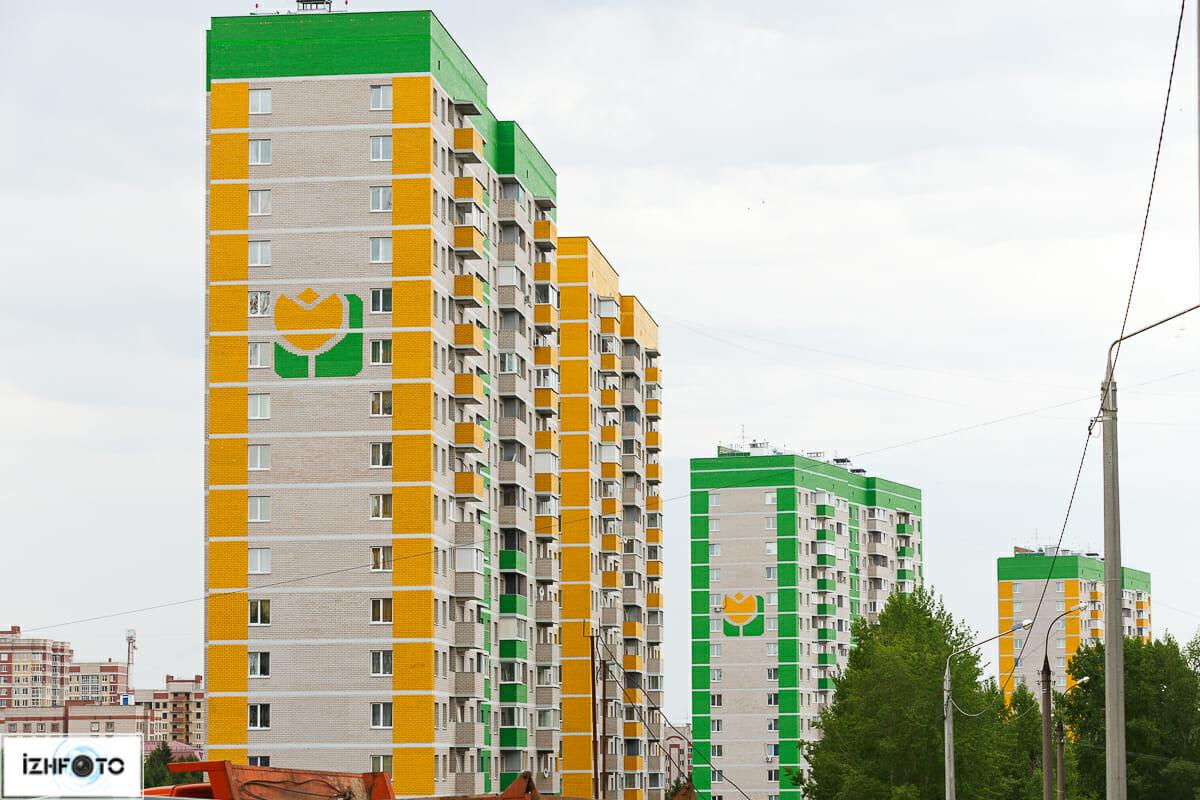 Новые дома в Ижевске