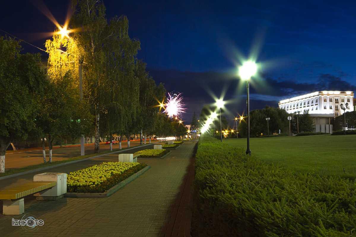 Ул. Лихвинцева, Ижевск