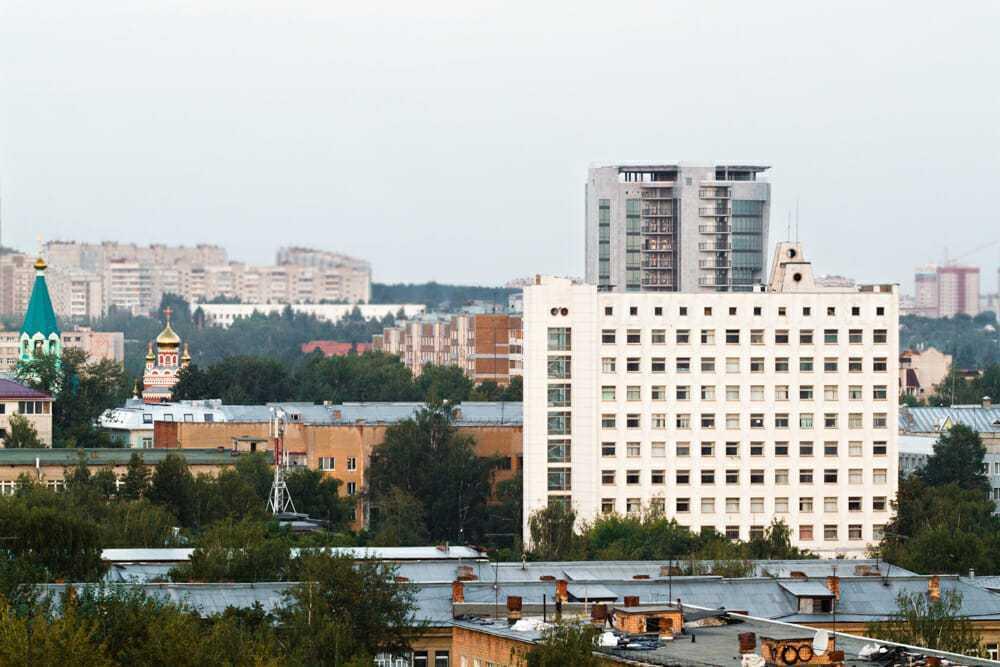 город Ижевск, фото