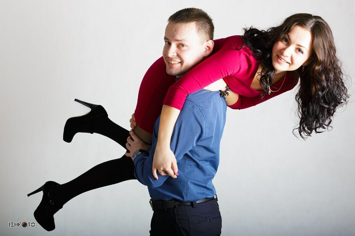 Студийная фотосъемка в Ижевске: Мария и Денис