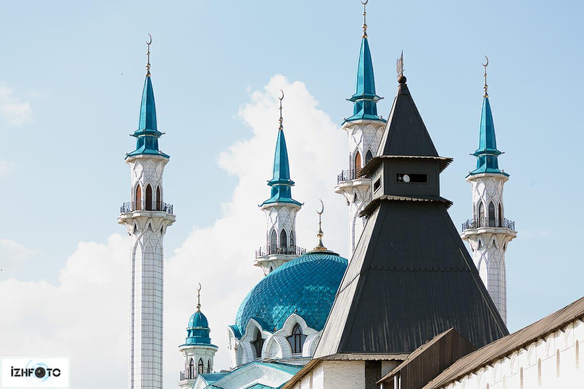 Мечеть в центре Казани