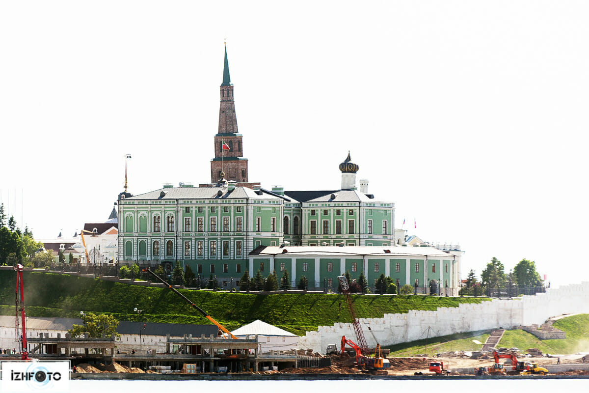 Центр Казани - Кремль